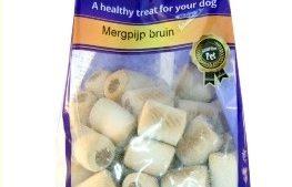 Mergpijp Bruin Voor Hond